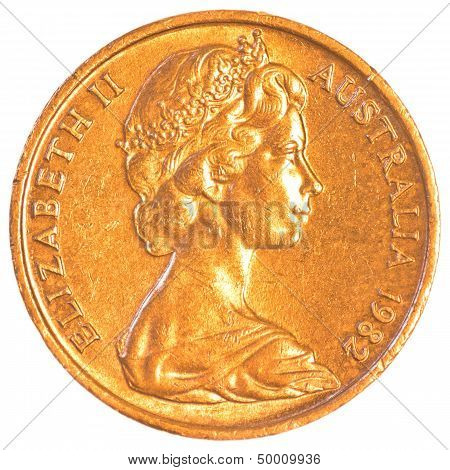 australian dollar cents coin