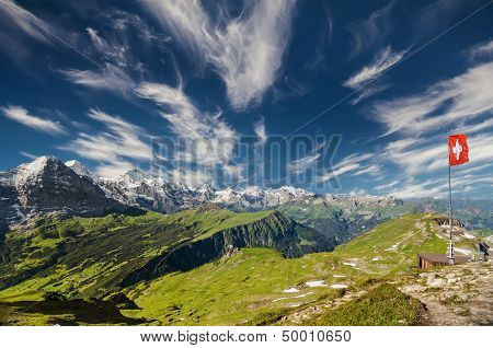 The Swiss Alps