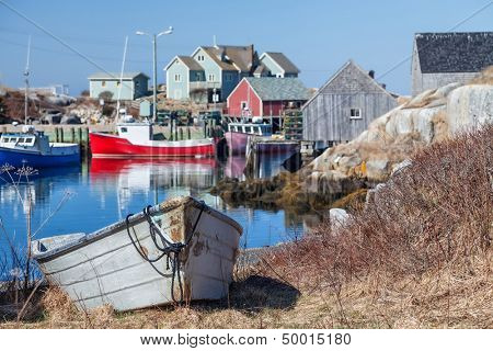Peggy's Cove, the small village on Nova Scotia's coast.