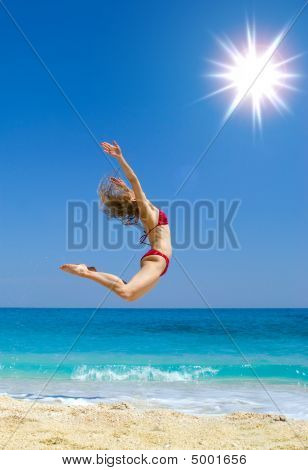 Jumping At The Sun