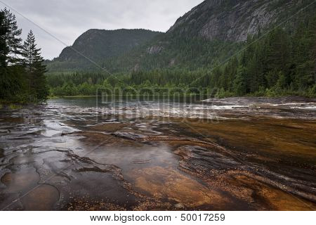 Giovdal river valley near Smelandgian Norway