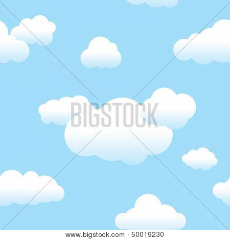 Seamless Clouds And Sky