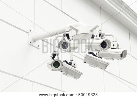 Wall mounted Surveillance camera
