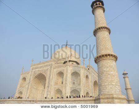 Beautiful Taj Mahal Detail