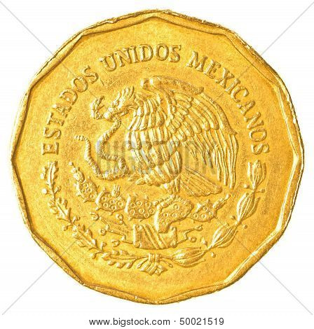 Mexican Peso Cents Coin