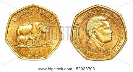50 Tanzanian Shilling Coin