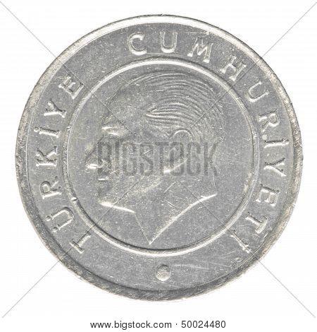 25 Turkish Kurus Coin