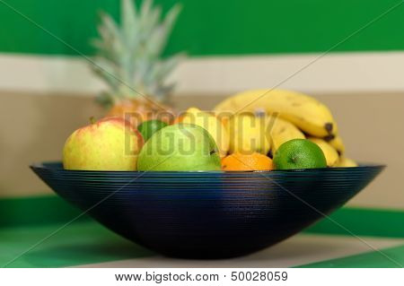 Fruits In A Bowl