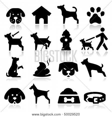 Hund-Icons