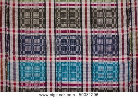 Russian homespun carpet