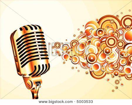 Micrófono Retro mágica