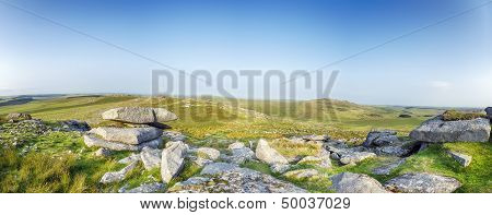 The Top Of Roughtor On Bodmin Moor