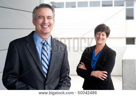 Portrait Of A Confident Mature Businessman