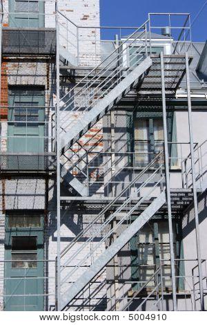 Backyard Staircase