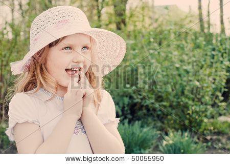 Smile Girl Outdoor
