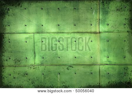 Aged Copper Background