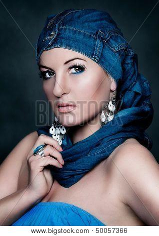 oriental fashion portrait