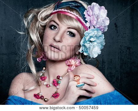 flower power candy girl