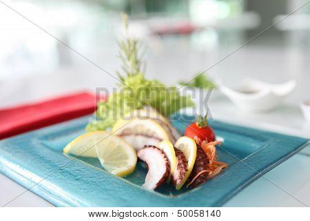 Octopus Tako Sashimi Sushi