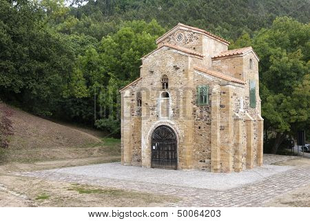 Saint Miguel De Lillo Church, Asturies, Spain