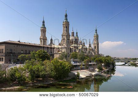 El Pilar Basilica, Saragossa, Spain