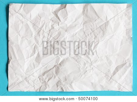 crimp White Paper texture background