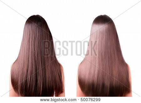 Hair Straightening Before And After