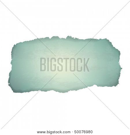 Old Paper Background With Torn With Gradient Mesh, Vector Illustration