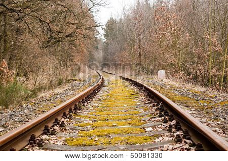 Obsolete Railroad Tracks