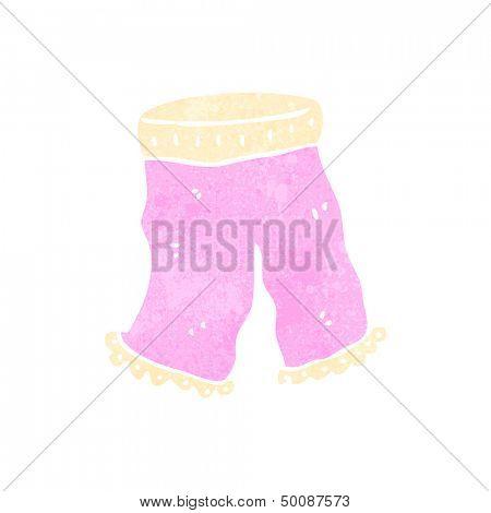 retro cartoon underpants