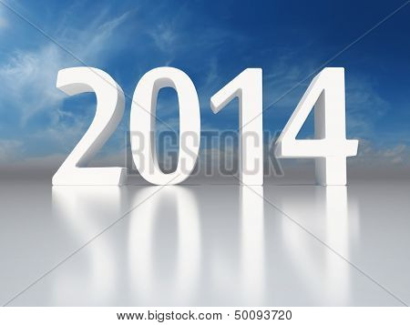 New Year 2014 background