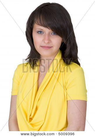 Portrait Very Pretty Lady