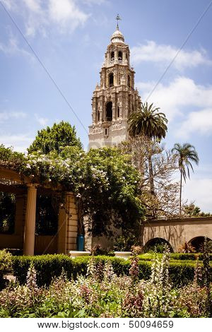 Tower at Balboa Park, San Diego