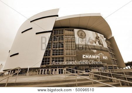 the American Airlines Arena home to the Miami Heat
