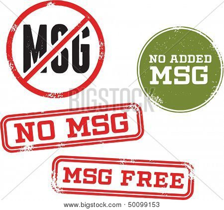 No MSG Menu Food Stamp