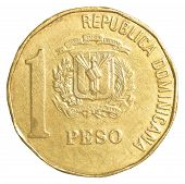 1 Dominican Republic Peso Coin