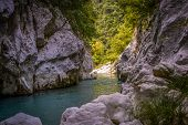 foto of hades  - Acheron river in Greece know as mystic river or river of Hades - JPG