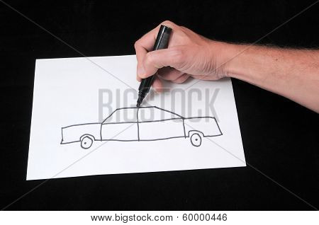 Drawing on a White Paper