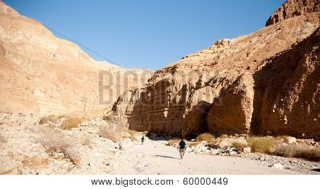 Mountains In Stone Desert Nead Dead Sea
