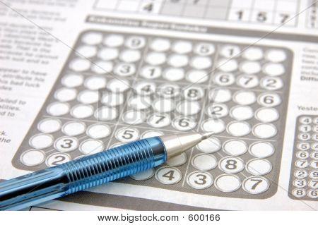 Sudoku Puzzle & Pen