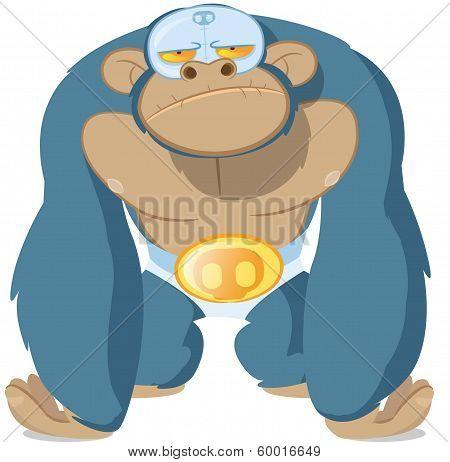 Monkey Wrestler