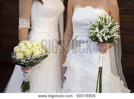 Wedding Of A Lesbian