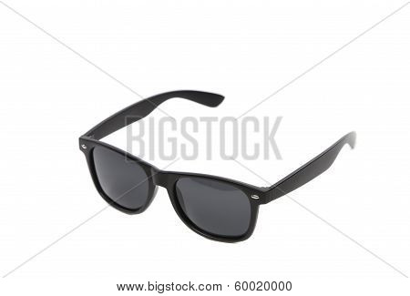 Black sun glasses.