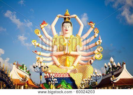 Kuan Yin image of buddha thailand