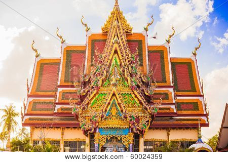 Buddhist pagoda Thailand