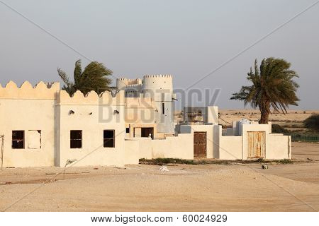 Village in Qatar, Middle East