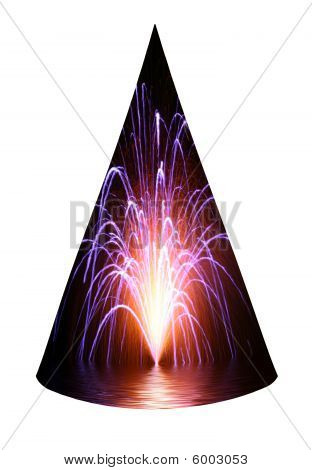 Fireworks Party Hat