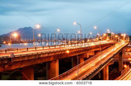 Interchange With Cars Light