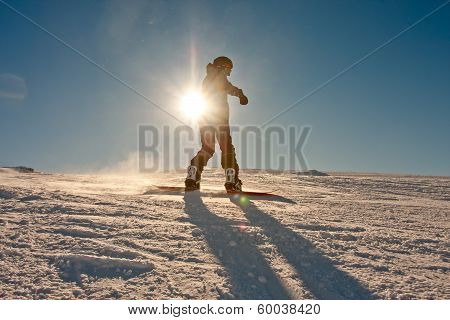 Teenager Or Snowboard
