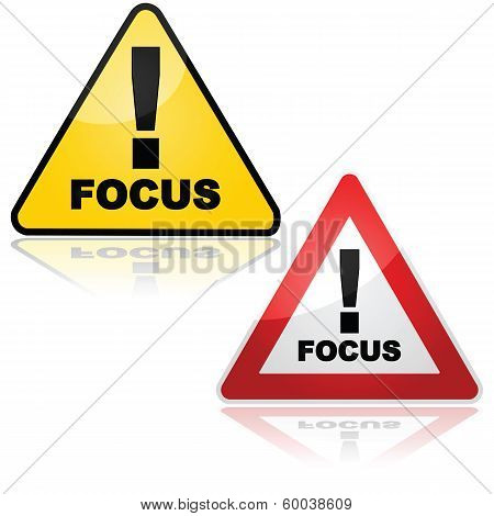 Focus Sign